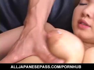 Busty Asian Chick Feels Enthusiastic To Fuck